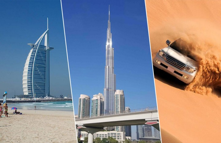 Simply Dubai (Diamond Package) with 5-Star Hotel