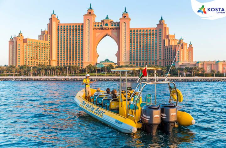 Yellow Boat 75 Minutes <br> The Atlantis Tour Sharing