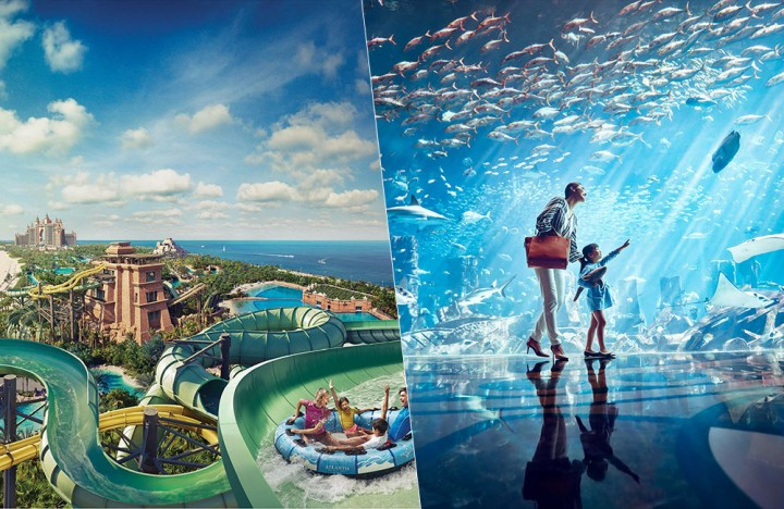 Aquaventure Waterpark and Lost Chamber Aquarium