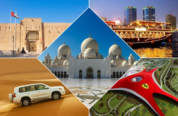 Explore Dubai and Abu Dhabi with Ferrari world (Diamond Package) with 5-Star Hotel